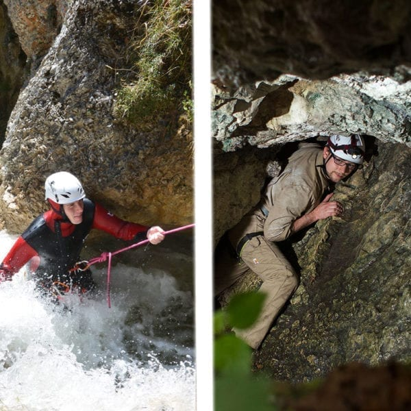Canyoning Caving Pauschalangebot