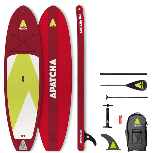SUP BOARD APATCHA 10'6 FIRE-RED