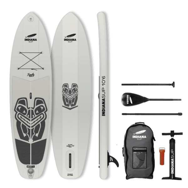 INDIANA 10'6 FAMILY PACK GREY SUP Board